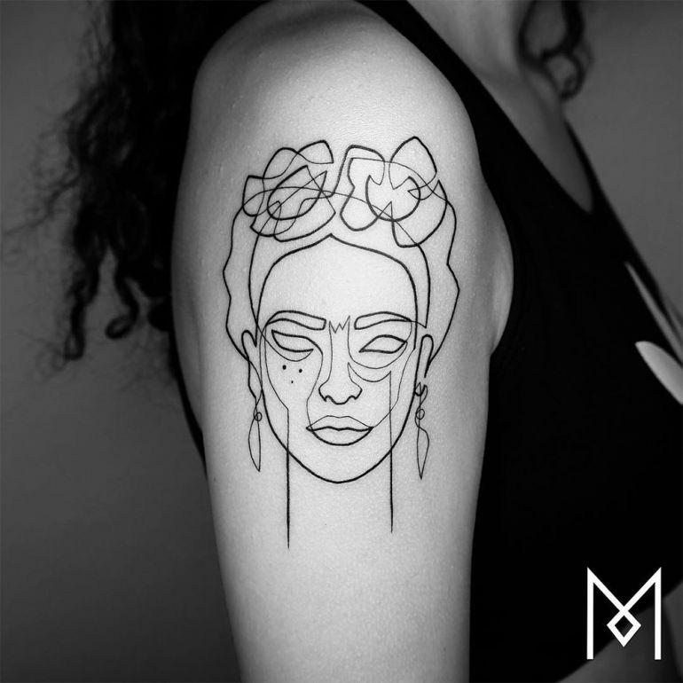 Фрида Кало. Татуировка