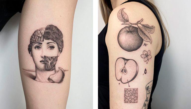 красивые татуировки, фото тату