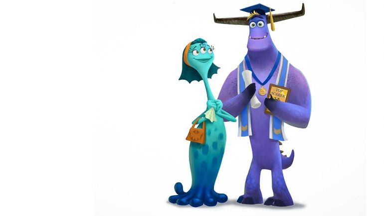 Pixar показали главных героев продолжения «Корпорации монстров»