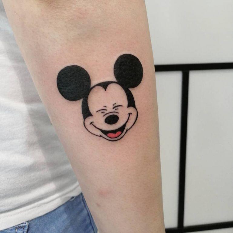 Татуировки с мультиками