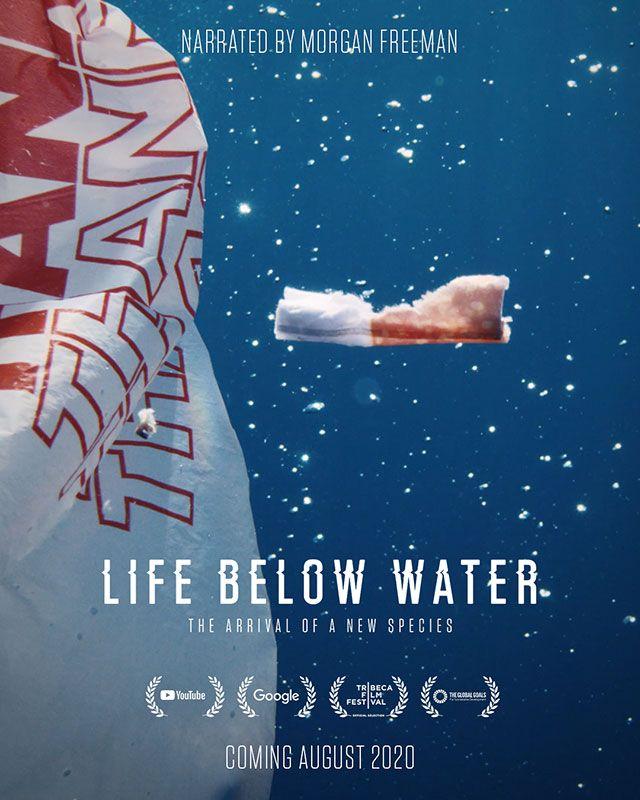 Морган Фримен озвучил социальную рекламу о загрязнении океанов