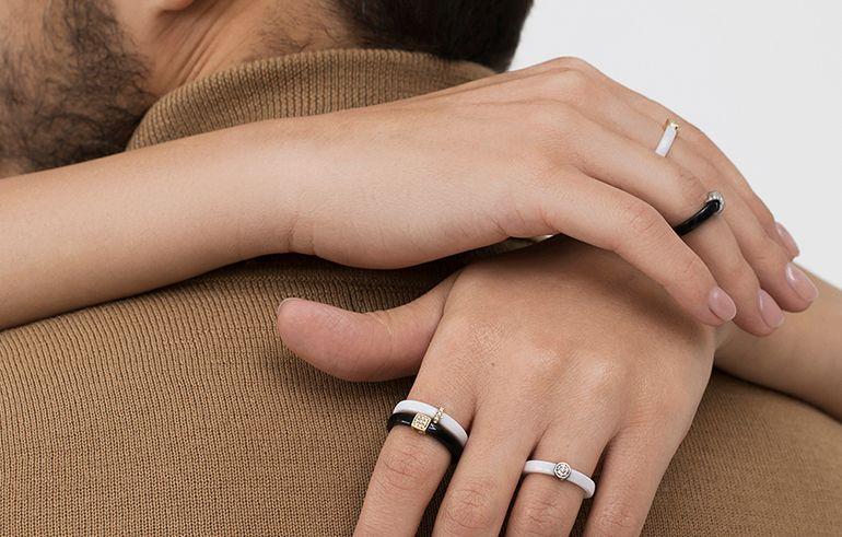 Керамические кольца SOVA Jewelry House